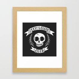 Doom & Gloom Club Framed Art Print