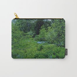 Teal Forest Carry-All Pouch