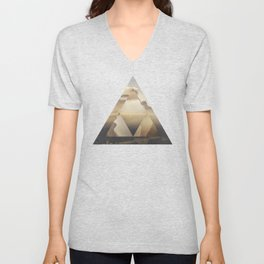 Hyrule - Power of the Triforce Unisex V-Neck
