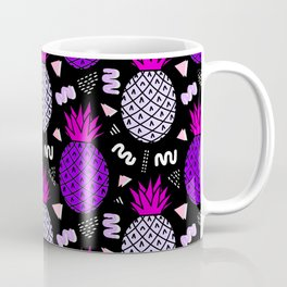 Memphis Pineapple Art Coffee Mug