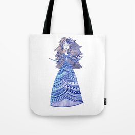Queen of the West Kingdom Tote Bag