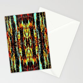 Colorful Indian Pattern Stationery Cards