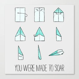 You Were Made To Soar Canvas Print