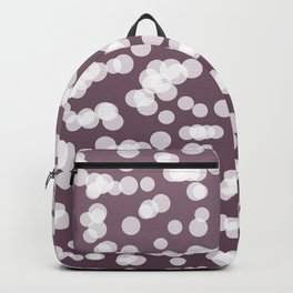 Blurry Lights: Purple Amethyst Backpack