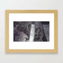 I will hold you Framed Art Print