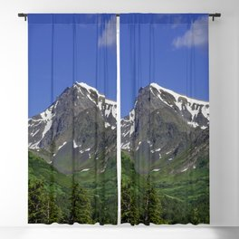 Scenic Seward Highway - Summer Blackout Curtain