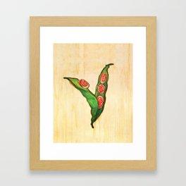 Bean Framed Art Print