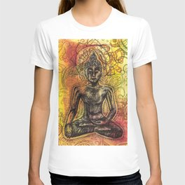 Meditating Buddha  T-shirt
