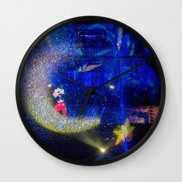 mysteries and magic Wall Clock