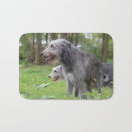 Wolfhounds big meek gray giants Bath Mat