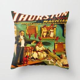 Thurston The Great Magician - Egypt Throw Pillow