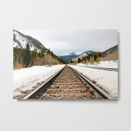 Colorado Railway Metal Print