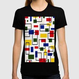 Bauhaus-esque Mid Century Modern 5 T-shirt