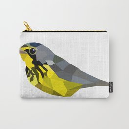 Bird art canada warbler Yellow gray Carry-All Pouch
