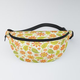 Daisy Spread - Gold to Red - Light (pattern) Fanny Pack