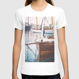Wood Sailing Boat T-shirt