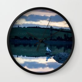 Perched on Strangford Lough Wall Clock