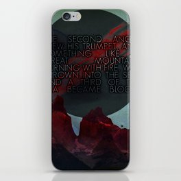 The Second Trumpet   3•2 iPhone Skin