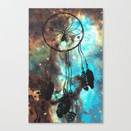 Dreamcatcher (blue) Canvas Print