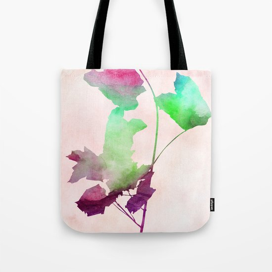 maple 2 watercolor by Jacqueline Madonado & Garima Dhawan Tote Bag