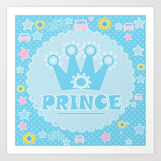 """For the little Prince . From the series """"Gifts for kids"""" . Art Print"""