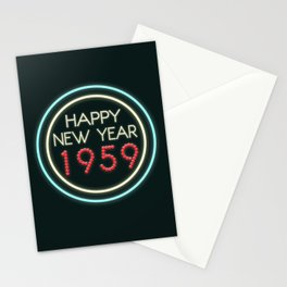 Happy New Year 1959! Stationery Cards