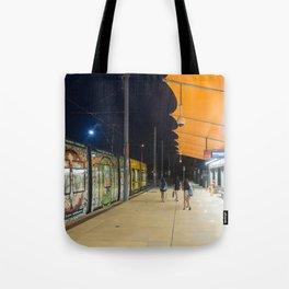Light Rail Station Tote Bag