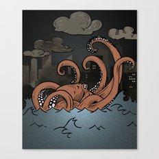 Octopi Movement  Canvas Print