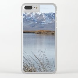 Bear River Clear iPhone Case