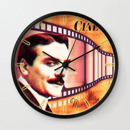 Max Linder Wall Clock