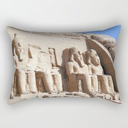 Abu Simbel Temples Aswan Governorate Egypt Ultra HD Rectangular Pillow