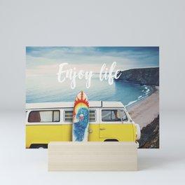 Enjoy life Mini Art Print
