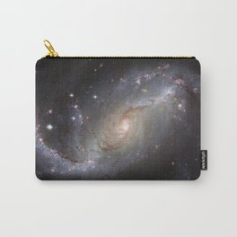Barred Spiral Galaxy NGC 1672 Carry-All Pouch