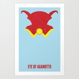 Dr. Strange - Eye of Agamotto Art Print