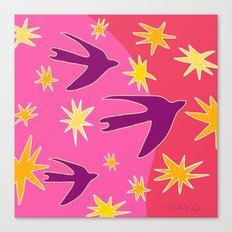 Night Birds Soar Canvas Print