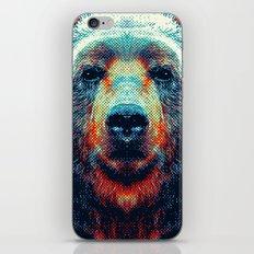 Bear - Colorful Animals iPhone & iPod Skin
