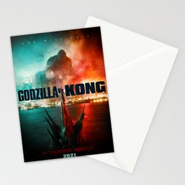 New Art rePrint of 2021 Promo Poster Godzilla vs. King Kong collectible Movie Stationery Cards