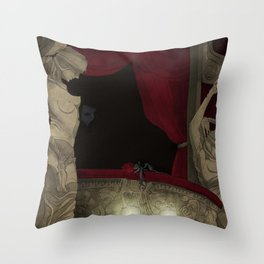 Box 5 Throw Pillow