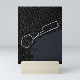 Baku Street Circuit Azerbaijan Mini Art Print