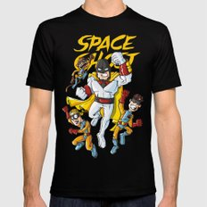 Space!!! Mens Fitted Tee LARGE Black