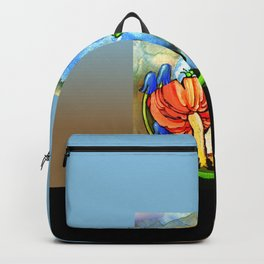 The Dragon and the Caterpillar Backpack