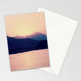 Romantic Pastel Pink Sunset #1 #art #society6 Stationery Cards