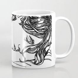 Cat Nap - Loki Black and White Series Coffee Mug