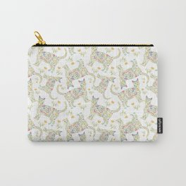 Flowercats, flowers and cats Carry-All Pouch