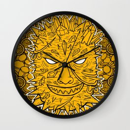 Greed Wall Clock