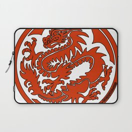 Tracy Queen - Crest of the Dragon Clan Laptop Sleeve