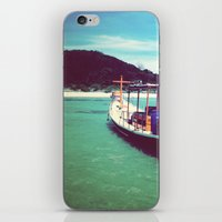 thailand iPhone & iPod Skins featuring Longboat, Thailand by istillshootfilm