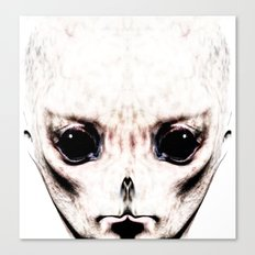 Visitor From Beyond Canvas Print