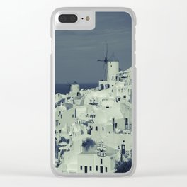 Santorini, Greece 2 Clear iPhone Case