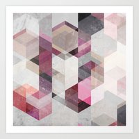 nordic Art Prints featuring Nordic Combination 22 Y by Mareike Böhmer
